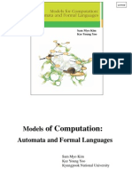 Models for Computation