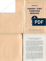 Forest Fire Fighters Service Manual