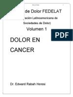 Dolor en Cancer