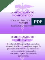 O Medicamento Homeopático
