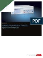 1MRK502047-UEN - En Application Manual Generator Protection REG650 1.3 IEC