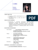 Cherry Rhose Cureg (Resume)