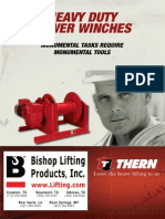 Thern Heavy Duty Power Winches