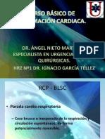 CURSO BÁSICO DE REANIMACIÓN CARDIACA