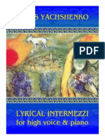 Ященко - Lyrical Intermezzi