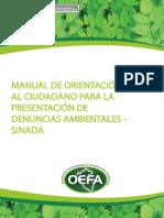 Manual Sinada