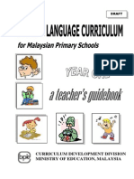 English Year 1 Guidebook