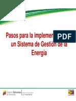 Sistema Gestion Energetica Corpoelec