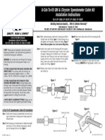 Speedo Cable Kit Gm