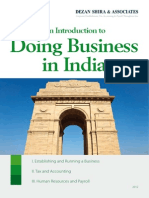 An Introduction to Doing Business in India
