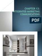 Chapter 13 Integrated Marketing Communication Part 1