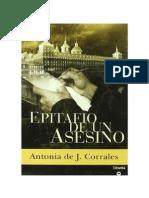 Antonia de J. Corrales - Epitafio de Un Asesino