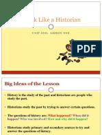 thinking like a historian - misd - home