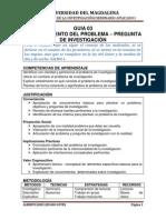 03 - Planteamiento Del Problema - Objetivos - Pregunta de Investigación