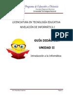 Guia Didactica - Unidad II