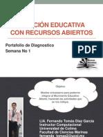 Innovacion Educativa-Portafolio Diagnostico