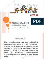 Metodología ORFF