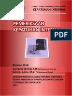 2011 KI Pemeriksaan Kepatuhan Internal