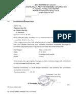 Contoh Surat Permohonan Kunjungan