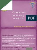 Conceptos de Parasitología Veterinaria