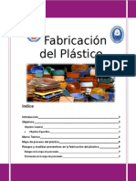 Informe Fabricacion Del Plastico