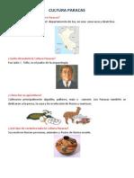 Cultura Paracas Daniella