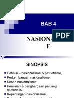 bab 4 - nasionalisme