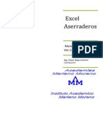 Excel Aserraderos-Manual Reducido