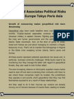 Elliott and Associates Political Risks Review Europe Tokyo Paris Asia