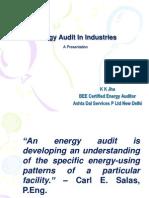 Energy Audit in Industries