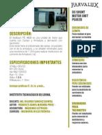 Datasheet Motor (Autoguardado)