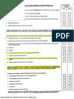 Dbkk Checklist