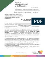 Carta Compromiso Con Apoyo Económico