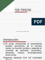 CONTRATOS TIPICOS Presentacion