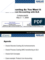 SLA and Cost Acctg