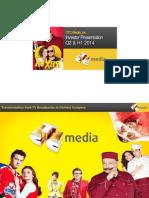 CTC Media Investor Presentation 2014