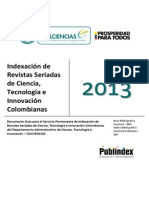 Guía Servicio Indexación 2013