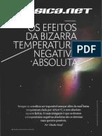 Os Efeitos Da Bizarra Temperatura Negativa Absoluta