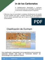 Clasificación de Los Carbonatos