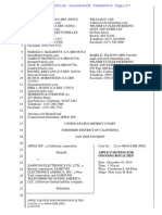 14-09-03 Apple Motion for Ongoing Patent Royalties From Samsung