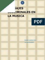 Tesis, Mensajes Subliminales en La Musica