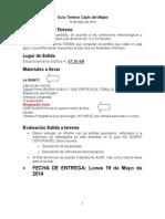 Guía Terreno Cajon 2014