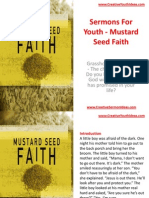 Sermons for Youth - Mustard Seed Faith