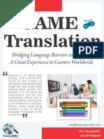 Game Translation Services