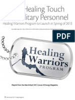 The Healing Touch for Military Personnel