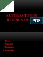 alteraciones hemodinamicas