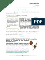 TXC 14 - Venenos Naturales (25.06)