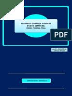 1. Reglamento General de Audiencias Bajo Las Normas Del Codigo Procesal Penal