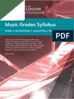 Music Grades Syllabus