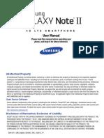 Samsung Galaxy Note II I317 from 2nd gen vers.
